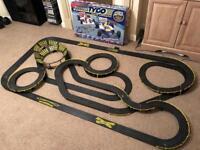Formula TYCO World champion scalextric slot car track