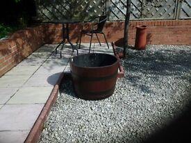 Garden planting casks