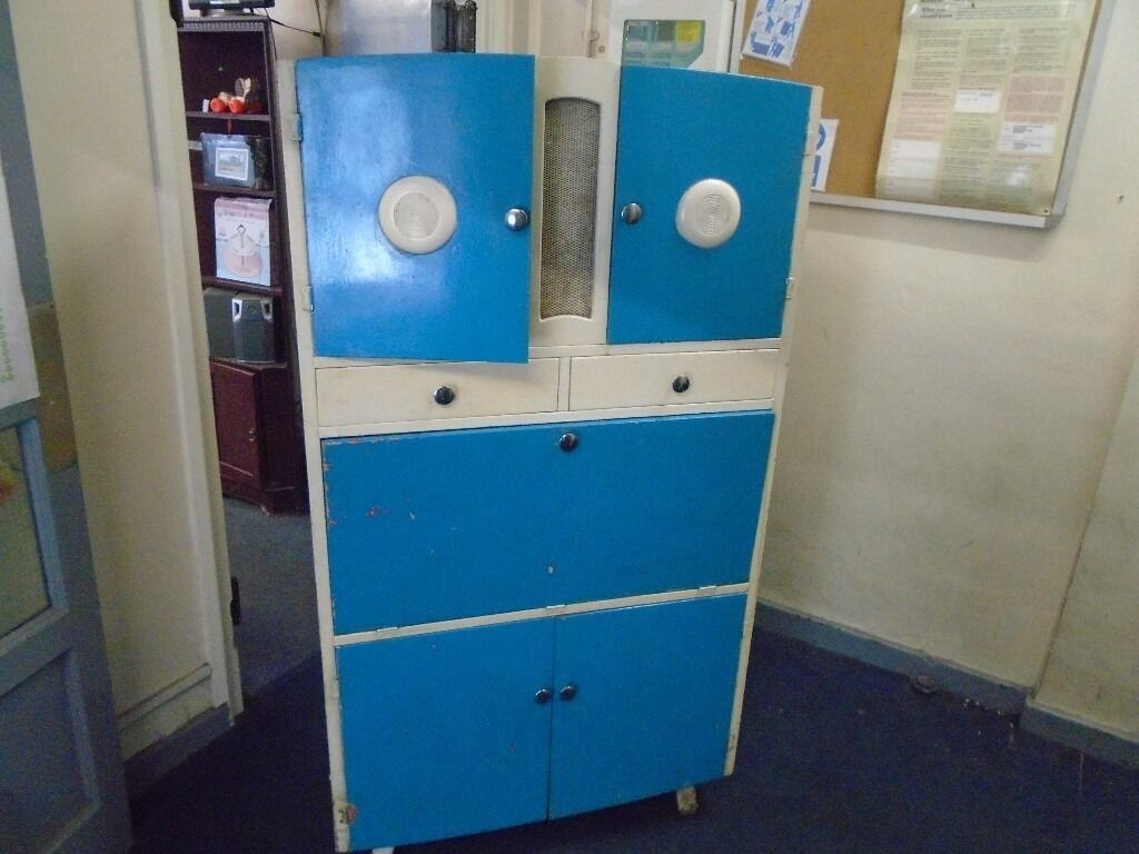 1950s Food Pantry Storage Cupboard In Fforestfach Swansea