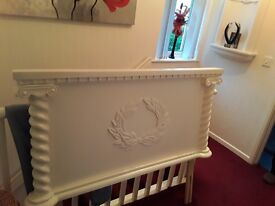 Luxury Solid White Headboard (Double bed)