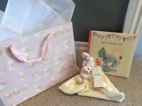 Gift Bag / M&S Bunny and Baby Keepsake Book / brand new with tags