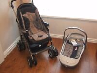 Mamas&Papas pushchair and carry cot