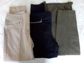 Assorted ladies' Capri pants. PRICE IS FOR EACH ITEM.