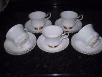 Royal Albert VAL D OR cups and saucers.