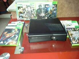 Xbox 360 with 9 games