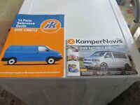 VW T4 TRANSPORTER PARTS REFERENCE GUIDE & KAMPER NEWS