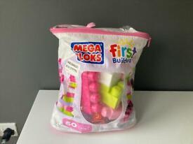Pink Mega Building Blocks
