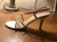 Brand new wedding shoes sandals size 4