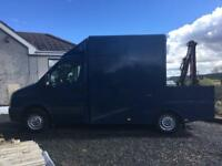 Volkswagen crafter CR35 with hydronic Crain 3.5 tons NO VAT!!