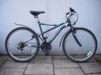 Mountain/ Commuter Bike by Apollo, Blue, Rides Nice, Good Condition,JUST SERVICED/ CHEAP PRICE!!!!!!