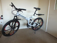 Rockefeller Folding Mountain Bike!