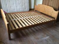 King sized double bed