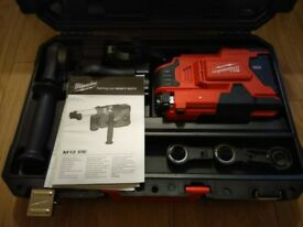 Milwaukee M12DE M12 Universal Drill Mounted Dust Extractor (Body Only) 12v