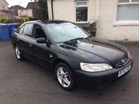 2002 honda accord sport v tec cheap reliable car px welcome £475