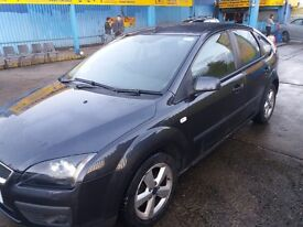 grey ford focus 2006 hatchback, new mot, good smooth drive, good tyres,