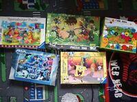 Several kids jigsaws
