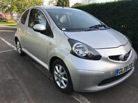 2008 Toyota aygo 1.0 platinum only 65000 miles service history 1 years mot aircon £20 tax 107 c1