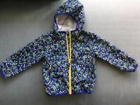 Boden waterproof jacket in size 2-3 year