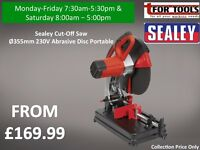 Sealey Cut-Off Saw Ø355mm 230V Abrasive Disc Portable