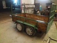 8FTX4FT TWIN AXLE TRAILERS