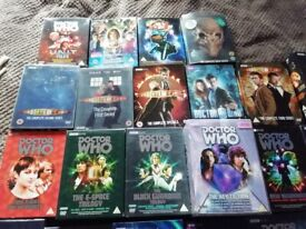 As new Dr who dvds