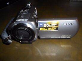 SONY HANDYCAM 60GB internal memory- NO TAPES