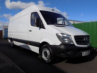 64 PLATE MERCEDES SPRINTER 313CDi LONG WHEEL BASE HIGH ROOF FOR SALE