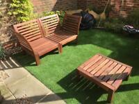 Ikea Garden Sofa table
