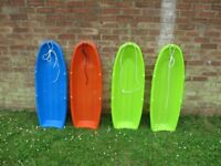 4 Adult sized sledges - Brand New