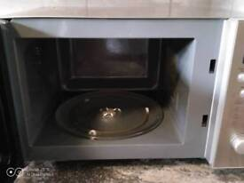 Microwave Silver Finish Very Clean