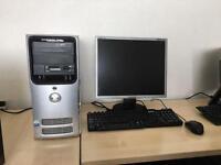 Dell Dimension E520 Intel dual core 4gb ram 320gb 19 inch lcd windows 10 full system