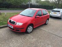 SKODA FABIA 1.4 AUTOMATIC, 5 DOOR HATCHBACK, MOT APRIL 2018