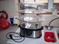 3 Tier electric fish/veg steamer