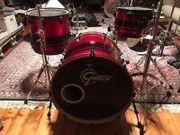 Gretsch red sparkle drumkit