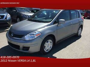 2012 Nissan VERSA S-AUTO-TOIT-OUVRANT-AIR CLIMATISÉ-