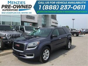 2014 GMC Acadia SLE2 AWD, DVD, Cam, ONE OWNER, Clean Carproof