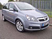 2007 (07) Vauxhall Zafira Design 7 Seater MPV Zafira Design 7 Seats