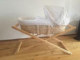 New Born Baby Moses Basket
