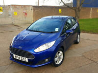 AUTOMATIC........FORD FIESTA 1.0 ECOBOOST 2014. FREE ROAD TAX. 1 OWNER . 18 K MILES. CHEAPEST IN UK