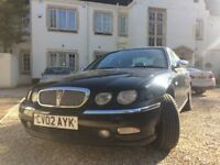 ROVER 75 Classic SE. 2.0 V6 Petrol, 2002 reg. Only one owner, low mileage. Full service record.