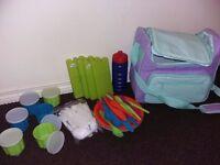 Picnic Set- Picnic insulated cool bag full of picnic stuff -£5