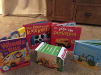 Selection of books for small children