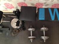 Multi gym and bench