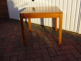 Teak side or lamp table