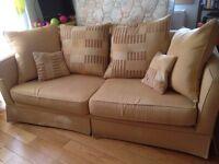 Fabric sofa 3 - 4 seater