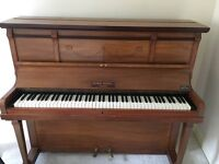 Second hand baby piano looking for new owner, only for £70