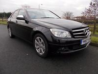 MERCEDES C 200 SE TDI 6 speed manual in black not bmw 320d 325d mondeo diesel