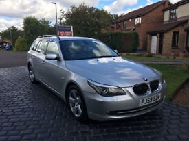 BMW 5 Series 3.0 530d SE Touring Estate 5dr Facelift - FSH - LOW Mileage