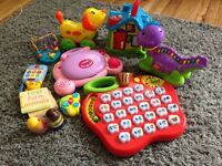 Bundle of toys vtech/little tikes/leapgrog