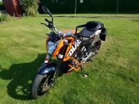 2013 KTM Duke 125 motorbike